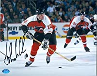 Autograph 212432 Philadelphia Flyers Image No. Sc5 John Leclair Autographed 8 x 10 in. Photo