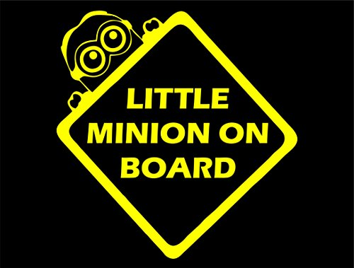 Little Minion On Board (6