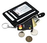 Best Mini Wallets - Zhoma RFID Blocking Genuine Leather Wallet - Credit Review