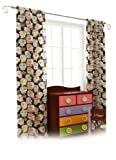 Room Magic Set of 2 Window Panels, Day of the Diva