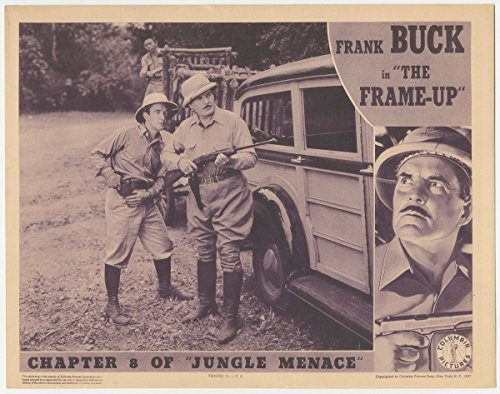 Jungle Menace - Premium Movie Poster Reprint 16 by 13 Unframed