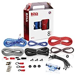 8 Gauge amplifier installation kit includes: