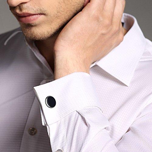 Marvelous men 39 s fashion luxurious tuxedo shirts cufflinks for Stud sets tuxedo shirts