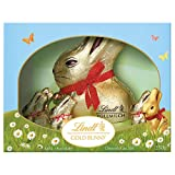 lindt easter gold bunny gift box milk chocolate, (1 x 200g + 5 x 10g), 6 count, 250g