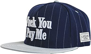 Cayler & Sons Mujeres Gorra Snapback F You Pay Me: Amazon.es: Ropa ...