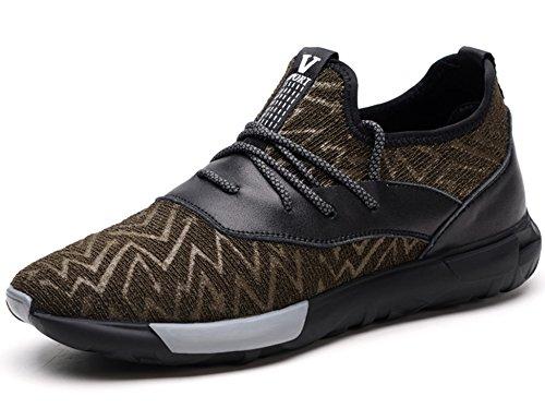 Gnediae Pour Chaussures Respirantes Été Course Tampon Sport 569 Plein De Marron Air Léger En Hommes Printemps SqSxrRwT