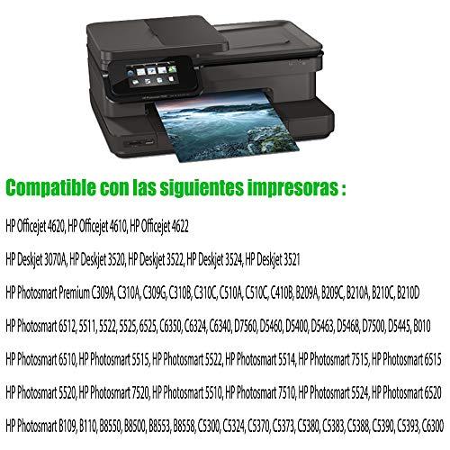 GLEGLE HP364XL Cartuchos de Tinta 10 Reemplazo para HP 364 364XL ...