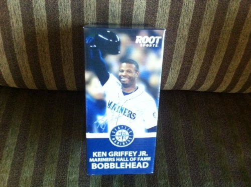 Ken Griffey Jr. Root Sports Bobblehead Doll 2013 Mariners Hall of Fame