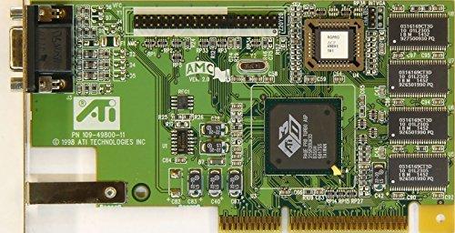 ATI 0125-21000 VIDEO CARD RAGE PRO TURBO AGP, 109-49800-11 (Ati Rage Ii)
