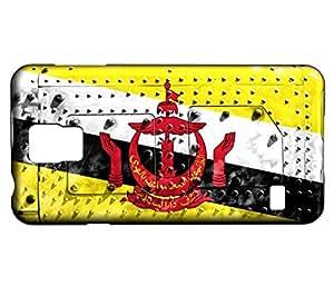 Funda Carcasa para Galaxy S5 Mini Bandera BRUNEI 06