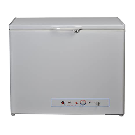 Marvelous SMETA Electric Gas Propane Chest Freezer For Home Camper RV ,5.7 Cu Ft,White