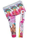 JoJo Siwa Get Clean Fun Beatz Toothbrush, Sparkle Cream Lotion & Tissue Set