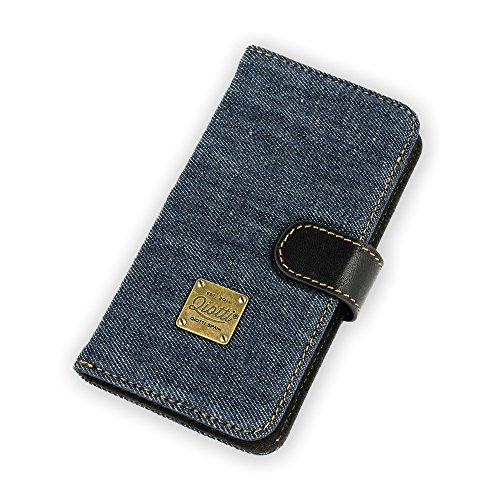 QIOTTI QP-B-0110-07-IP6 Q.Book denim Magic raw Schutzhülle für Smartphone blau