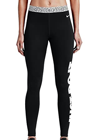 the best attitude cac9c fa0ae Nike Women s Pro Warm Mezzo WB TGT Tights - Black, Large