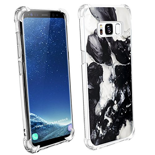 Price comparison product image Beryerbi Samsung s8 Plus Case Soft TPU Ultra Slim with Air Cushion Technology Protection Cover (2, galaxy s8 Plus)