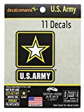 U.S. Army Military Logo Car 11 Stickers Decals for Truck Car Auto Boat Vehicle Laptop