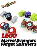 Clip: Lego Marvel Avengers Fidget Spinners