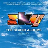 UK eight disc (seven CDs + NTSC/Region 0 DVD) set. The Studio Albums 1979 - 1987 is a clamshell box set that gathers together all seven studio albums released by the legendary classical rock band Sky over a nine year period. Formed in 1979, Sky broug...