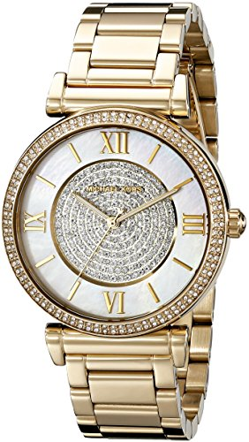 - Michael Kors Women's Catlin Gold-Tone Watch MK3332