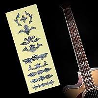 Acústica Guitarra Eléctrica Bass Pegatina De Incrustaciones