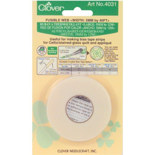Clover Fusible Web 5mm, 1/4-Inch 40ft. (4031)
