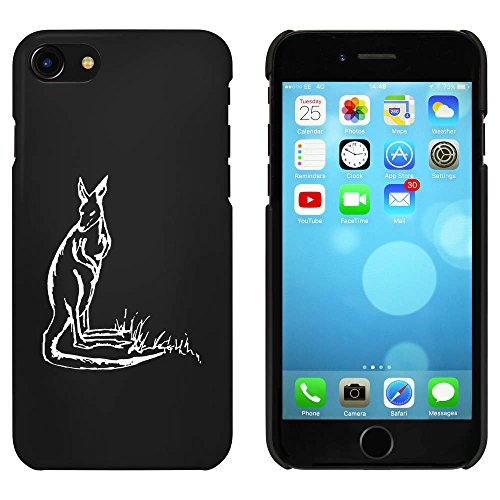 Noir 'Kangourou' étui / housse pour iPhone 7 (MC00063543)