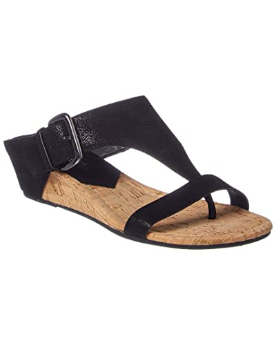 a2b03588fbe7 Image Unavailable. Image not available for. Color  Donald Pliner Dylan Suede  Wedge Sandal ...
