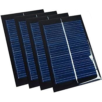 Amazon Com Nuzamas 3 5w 6v 600ma Mini Solar Panel Module