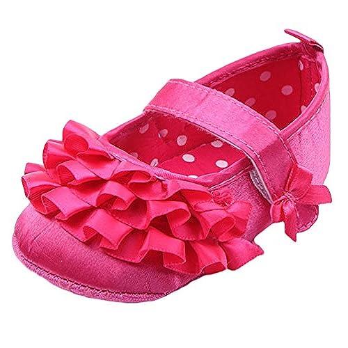 CHENGYANG Chaussures Premiers - Chaussures Décontracté Princesse - Bébé  Fille · CHENGYANG Chaussures Premiers - Chaussures Décontracté ... 0e09517caef