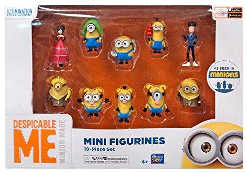 s Movie Minions Mini Figurines 10-Piece Set Exclusive 2