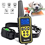 Cheap Dog Training Collar, Dog Shock Collar with Remote 2500FT Shock Collar for Dogs IPX7 Waterproof Rechargeable w/ Beep 99 Levels Vibrate Shock Modes for Small Medium Large Dogs
