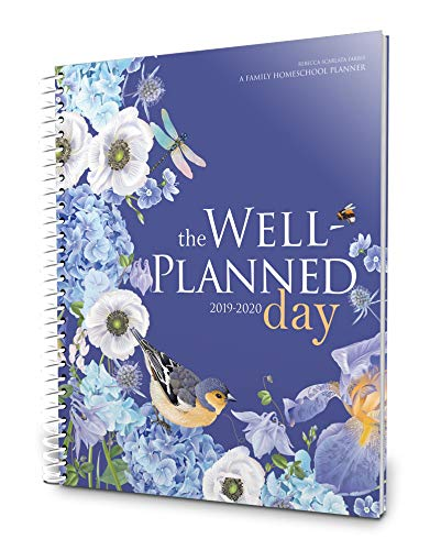 Well Planned Day, Family Homeschool Planner, July 2019 - June 2020