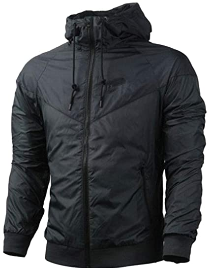 Macondoo Men Coat Outdoor Ultra Light Sport Windbreaker ...