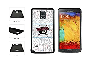 Arizona Ice TPU RUBBER Phone Case Back Cover Samsung Galaxy Note IV 4 N910 comes with Security Tag and MyPhone Designs(TM) Cleaning Cloth