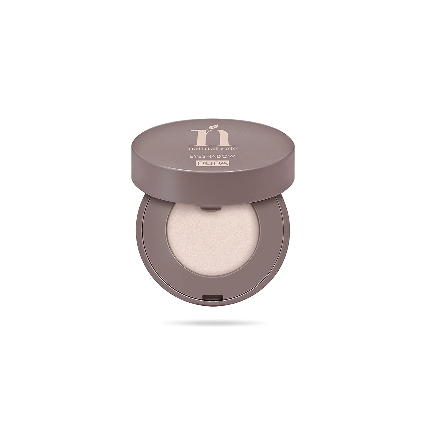 Natural Side Compact Eyeshadow – 003 Silky White by Pupa Milano for Women – 0.07 oz Eye Shadow