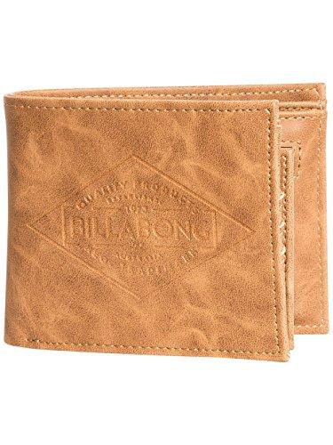 Womens Billabong Wallet - 2 Billabong Bi-fold Wallets with CC, Note and Coin Pockets ~ Bronson tan