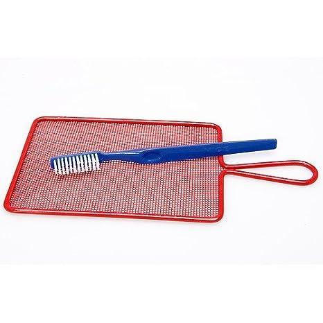 Colador técnica - Salpicaduras Tamiz (con cepillo para agua color: Amazon.es: Hogar