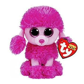 530cef65a86 Amazon.com  WATOP Ty Beanie Boos Elephant and Monkey Plush Doll Toys for  Girl Rabbit Fox Cute Animal Owl Unicorn Cat Ladybug (Powder Teddy)  Toys    Games