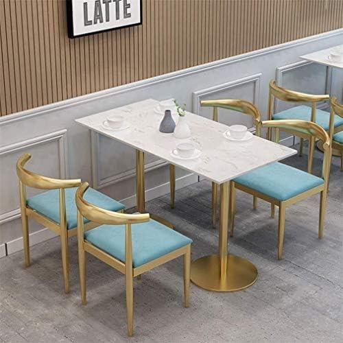Flanelle manger chaise cadre chaise de maquillage or, chaise de bureau résistant à l'usure confortable, siège de coussin d'éponge de rebond