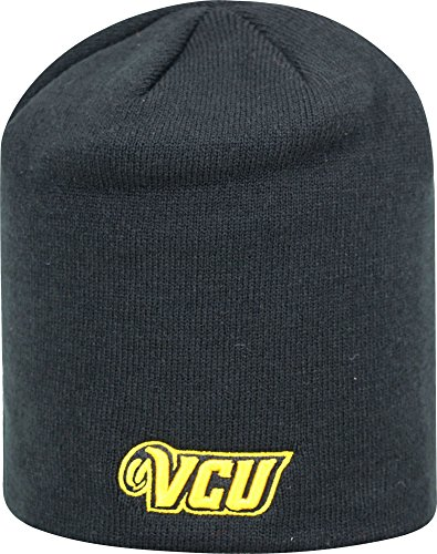(Top of the World Men's VCU Rams Black TOW Classic Knit Beanie (OneSize))