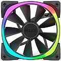 NZXT Aer RGB140 Triple Pack 140MM RGB Case Fan 500-1500 RPM 23.9-71.6 CFM 22-33DBA 4-PIN PWM by NZXT - US PC