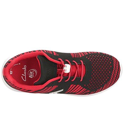 ClarksSprintKnit Jnr - Zapatillas Niñas Red