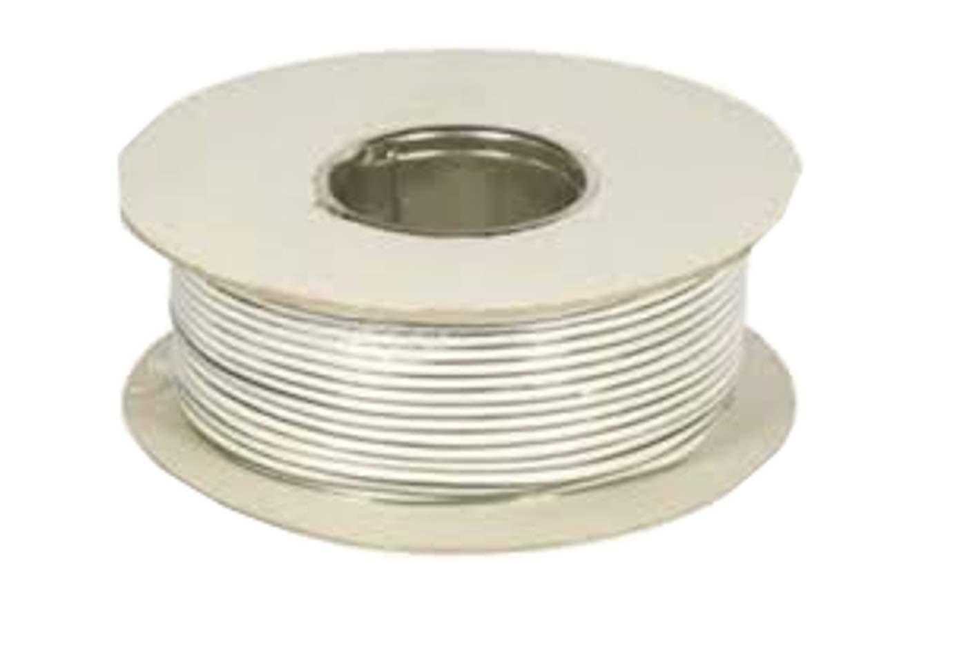 Blanc 2Core 0, 5mm de sonnette Fil–Rouleau complet et personnalisé longueurs disponibles 5mm de sonnette Fil-Rouleau complet et personnalisé longueurs disponibles Ali's DIY