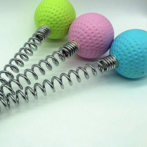 WJkuku Body Massage Hammer Tool Golf Ball Massager (Pink)