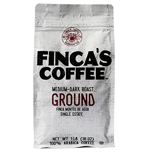 Cheap Finca's Coffee Medium-Dark Ground Roast Coffee 1Lb (16 OZ)
