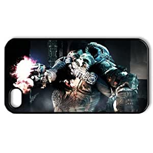 Alicia Russo Lilith's Shop Game Design 2 Gears Of War Judgment Print Black Case With Hard Shell Cover for Apple iPhone 4/4S 7136315M68223323
