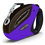 Bengoo Retractable Dog Leash 16 Foot Heavy Duty Tangle Free Pet Leash with Easy Instant Retraction with Easy Instant Retraction for Small Medium Large up to 110lbs Dogs Cats and other Pet