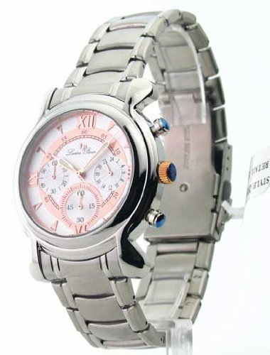 Lucien Chrono Piccard (Mens Lucien Piccard Steel Chrono Watch 28167RO)