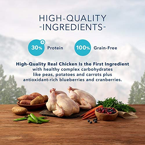 Blue Buffalo Wilderness High Protein Grain Free, Natural Adult Dry Cat Food, Chicken 4