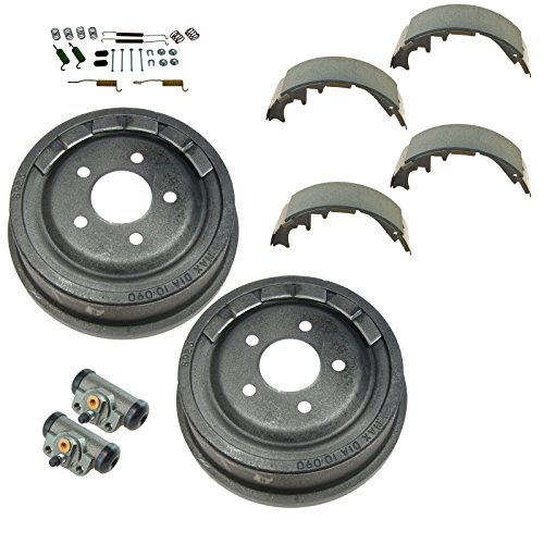 Rear Brake Drum Shoe Wheel Cylinder & Hardware Kit for Ford Ranger Mazda B ()